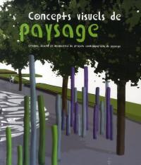 Concepts visuels de paysage croquis, dessins et maquettes projets contemporains de paysage