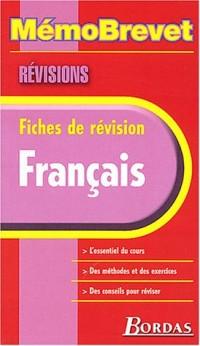 MEMO BREVET REVISION FRANCAIS    (Ancienne Edition)
