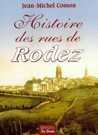 Histoire des rues de Rodez
