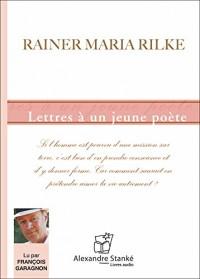 Lettres a un jeune poete - Livre audio CD