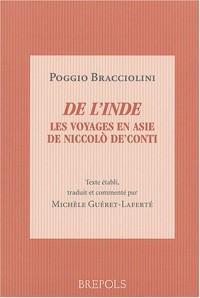 De l'Inde : Les voyages en Asie de Niccolo De'Conti, de varietate fortunae livre IV