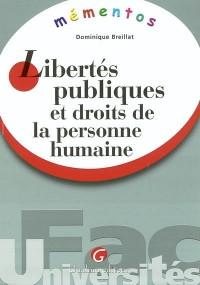 Mémento : Libertés publiques et Droits de la personne humaine