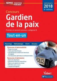 Concours Gardien de la Paix - Catégorie B - Admis - Tout-en-un - Concours 2018