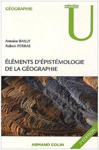 Eléments d'épistémologie de la géographie