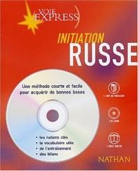 Russe : Initiation (2 livres + 1 CD audio)