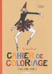 Cahier de coloriage Yves Saint-Laurent de poche : Edition bilingue français-anglais