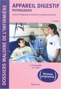 Appareil digestif : Pathologies, Sciences biologiques et médicales, techniques infirmières