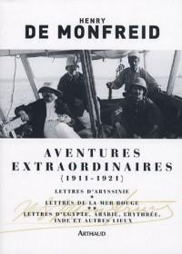 Aventures extraordinaires : 1911-1921