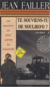 Te souviens-tu de Souliko'o ?, pack en 2 volumes : tomes 1 et 2