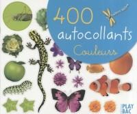 400 autocollants Couleurs