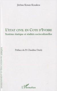L'état civil en Côte d'ivoire : Système étatique et réalités socioculturelles