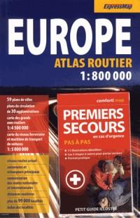 Atlas Routier Europe 1/800 000