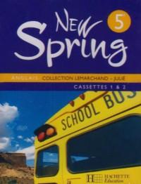 New Spring Anglais 5e Lv1 - Cassettes Audio Classe - Edition 2007