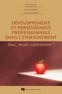 Developpement et Perseverance Professionnels Dans l Enseignement