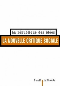 La Nouvelle critique sociale