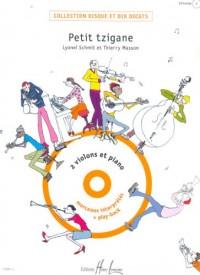 Petit Tzigane (+ 1 cd) - 2 violons et piano