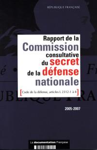 Rapport de la Commission Consultative du Secret de la Defense Nationale (Code de la Defense, Article