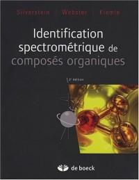 Identification spectrométrique de composés organiques