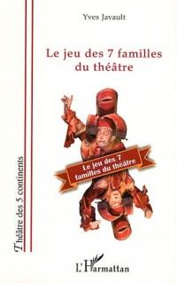Jeu des 7 Familles du Theatre