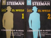 ici m. wens tomes 1 et 2 (six hommes morts - l'ennemi sans visage - crimes a vendre - la nuit du 12 au 13 - le mannequin assassiné - un dans trois)