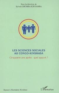 Les sciences sociales au Congo-Kinshasa