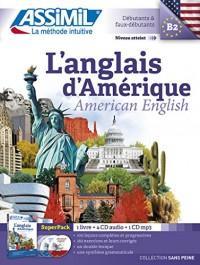 L'Anglais Amerique Superpack (livre+4Cd audio+1Cd mp3)