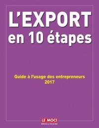 L'export en 10 étapes : Guide à l'usage des entrepreneurs