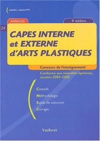 CAPES interne et externe d'arts plastiques : Sessions 2004-2005