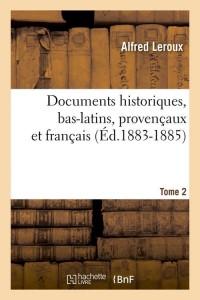 Documentsbas Latins  T 2  ed 1883 1885