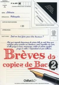Brèves de copies de bac - tome 2 (2)