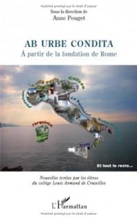 Ab urbe condita : A partir de la fondation de Rome