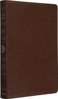 Holy Bible: English Standard Version, Trutone, Natural Brown, Thinline