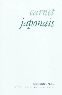Carnet japonais