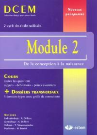 Module 2 : De la conception à la naissance