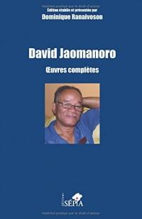 David Jaomanoro: Œuvres complètes