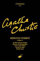 Intégrale Hercule Poirot volume 3 [Poche]