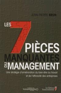 Les 7 pièces manquantes du management