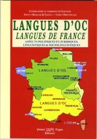 Langues d'Oc, langues de France