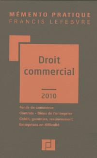 Mémento droit commercial 2010