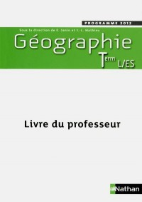 Geographie Terminale l  Es Prof 2012