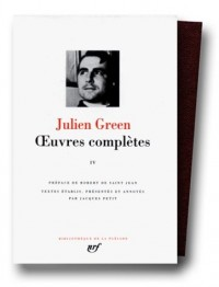 Green : Oeuvres complètes, tome 4