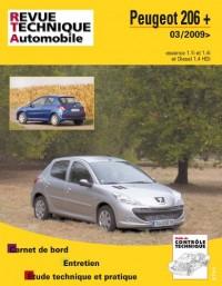 Rta B735 Peugeot 206 + 03/2009> Ess + 1.4 Hdi