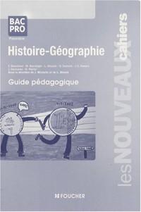 Histoire-Géographie 1e Bac Pro : Guide pédagogique (Ancienne Edition)