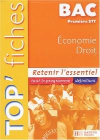Economie Droit 1e STT