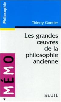 Les Grandes oeuvres de la philosophie ancienne