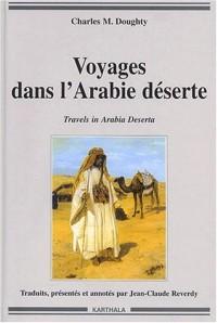 Voyages dans l'Arabie déserte