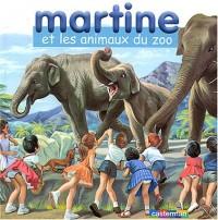 Martine et les Animaux du zoo : Coffret livre avec un jeu de cubes en bois