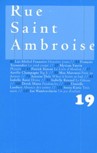 Rue Saint Ambroise  (Revue N 19)
