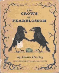The crows of pearblossom,