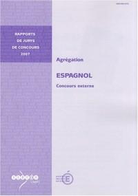 Agrégation espagnol : Concours externe